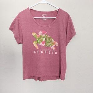 Pink Sea Turtle Top